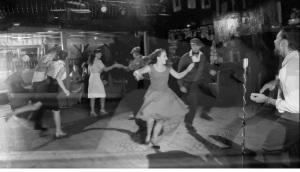 Dance still from official Si Cranstoun Coupe De Ville video - watch them rock n roll!